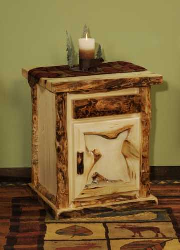 Winding River Aspen Nightstand 1 Dr - 1 Door