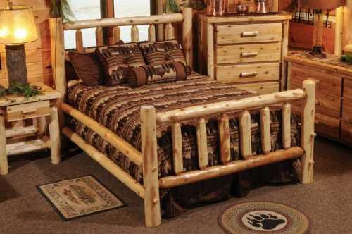 White Cedar Bed