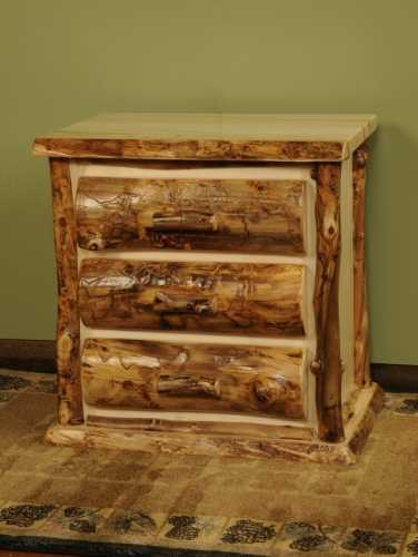 Winding River Aspen Nightstand 3 Drawer