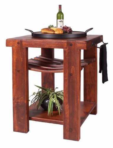 Reclaimed Wine Barrel Cross Creek Kitchen Island