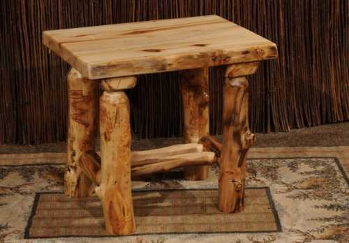 Winding River Aspen End Table