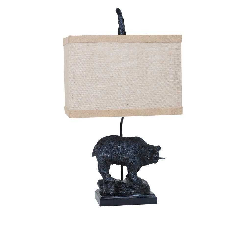 Fishing Bear Table Lamp