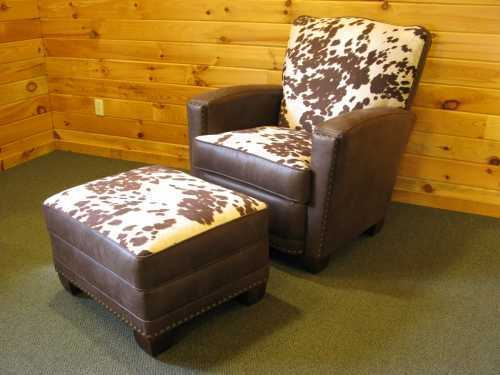 Hollister Chair and Storage Ottoman