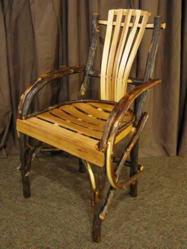 Hickory Arm Chair