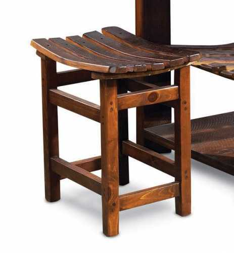 Reclaimed Wine Barrel Winemaster's Tasting Stool